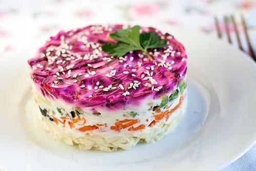 ვეგანური სალათი