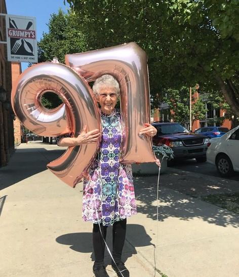 97 წლის ვეგანი